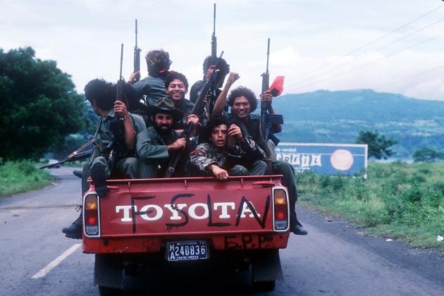 Sandinista rebels in Nicaragua