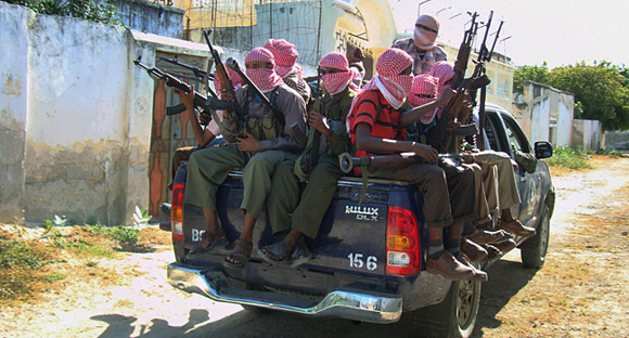 Militias ride in style in Mogadishu