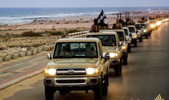 ISIS likes its Toyotas shiny. And matching.
