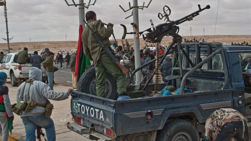 Serious firepower in the Libyan civil war