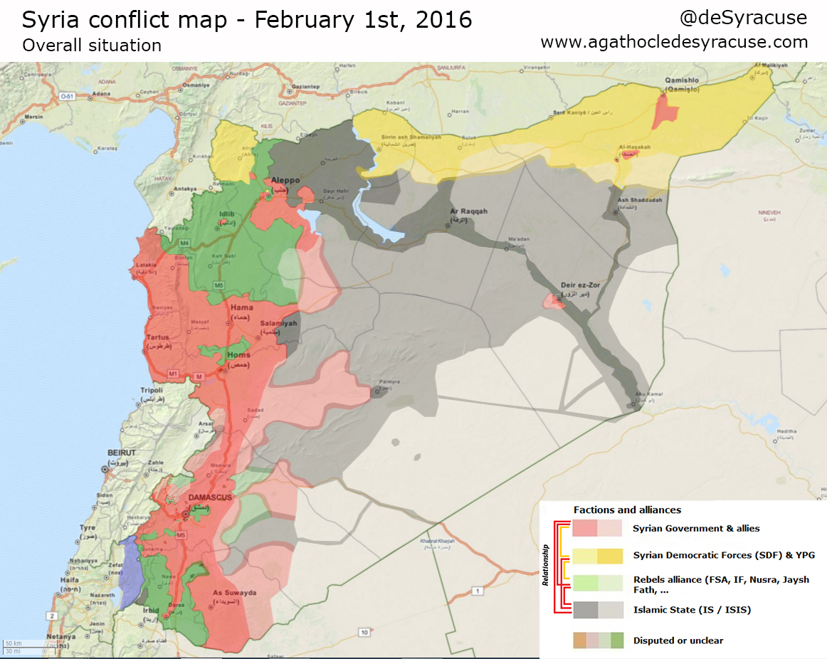 Lets redraw the borders of syria what could go wrong syria 1 feb 2016 static gumiabroncs Choice Image