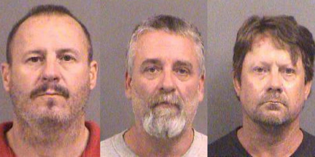 Kansas terrorism suspects, from left: Curtis Allen, Patrick Stein, Gavin Wright.