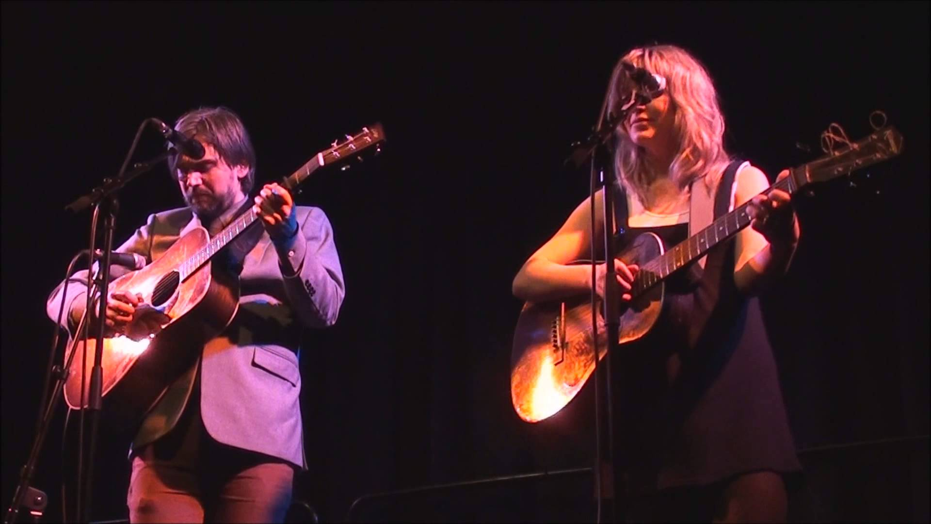 Anais Mitchell and Jonathan Hamer.