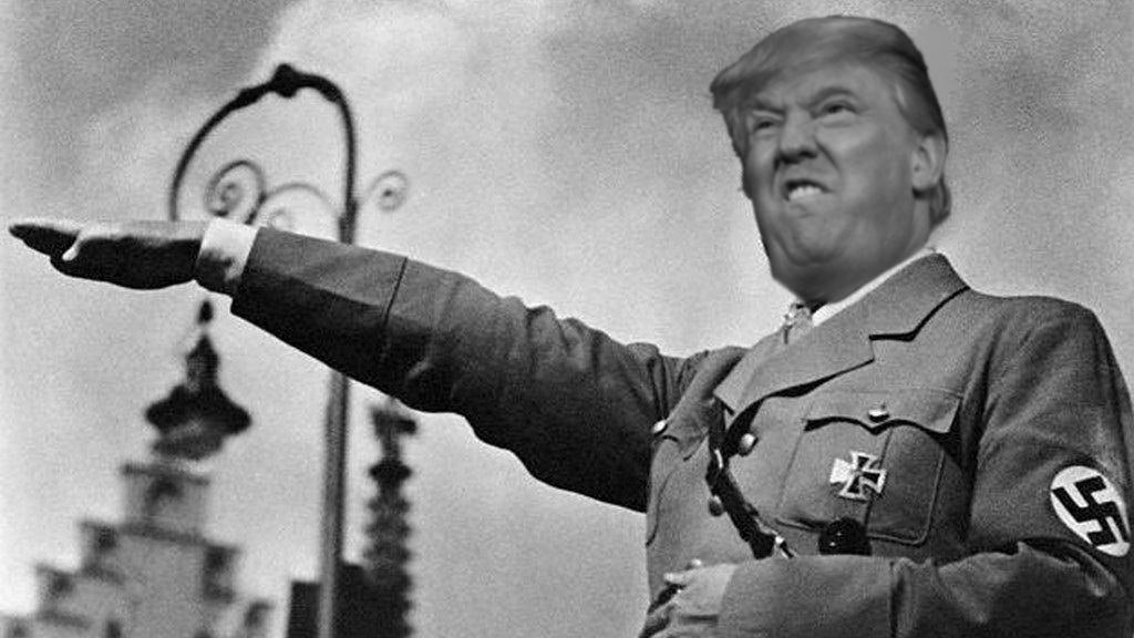 نتيجة بحث الصور عن ترامب هتلر