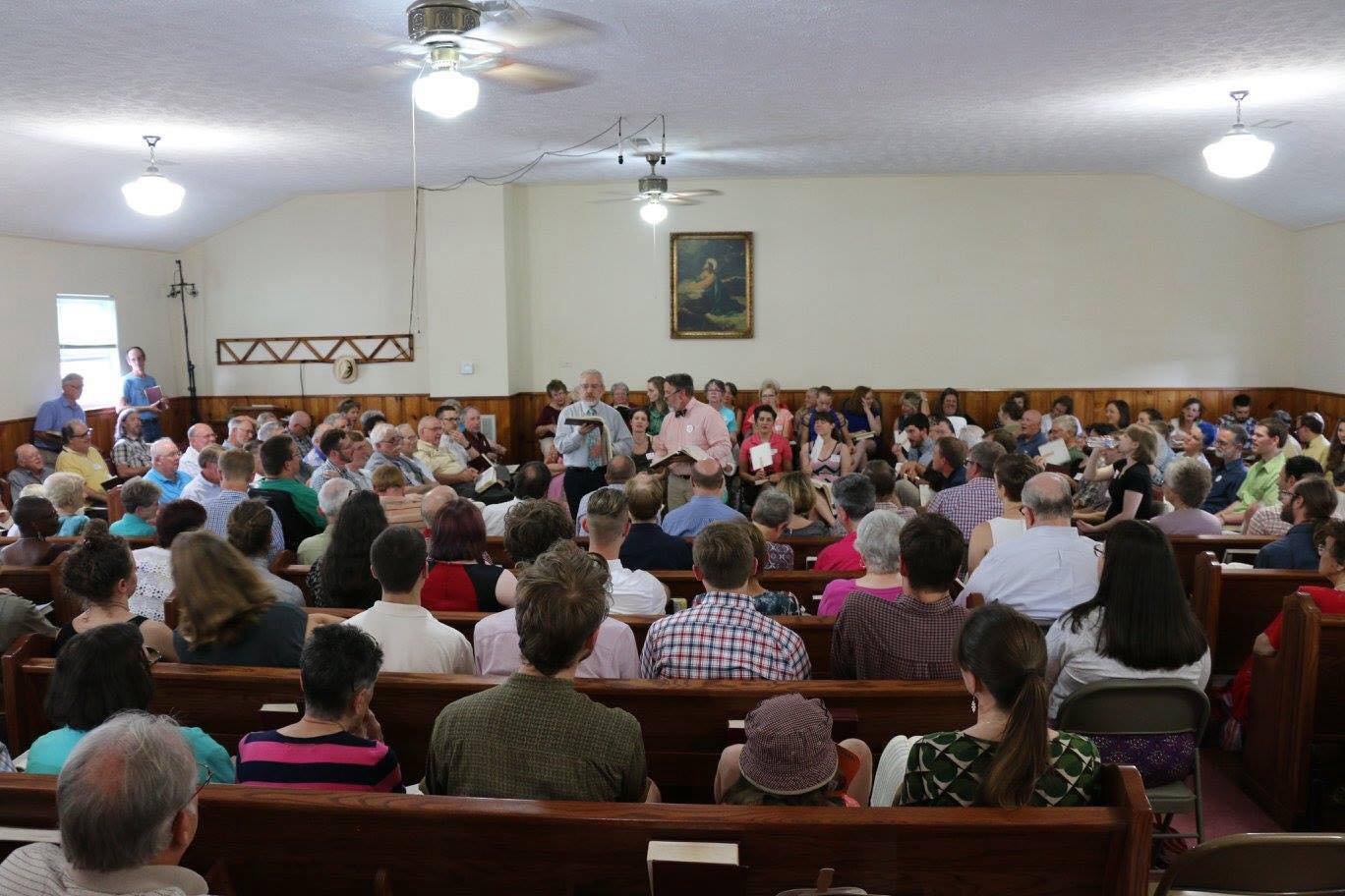 That's me on the right leading with my friend Sam Somers in Henegar, AL last summer.
