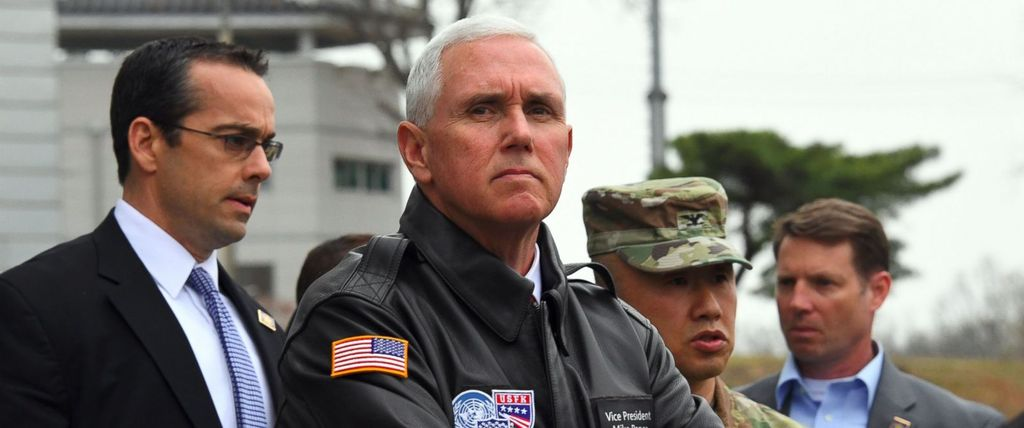 pence stare
