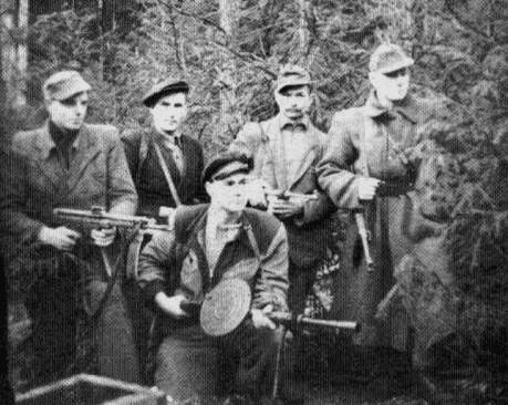 Anti-Soviet partisans, Latvia, 1949.